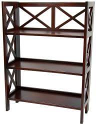 Architectural 37-inch Book Case Shelf (China)
