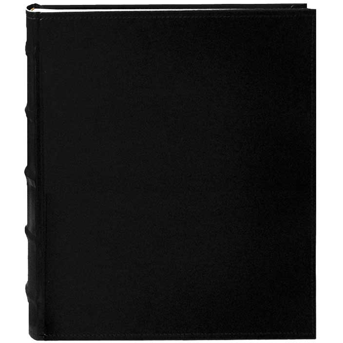 Pioneer Photo Albums Black Leather Bi-Directional Photo Album ('5 x 7')