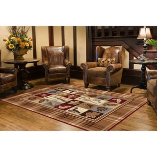 Natural Collection Beige Rug (7'10 x 10'3)