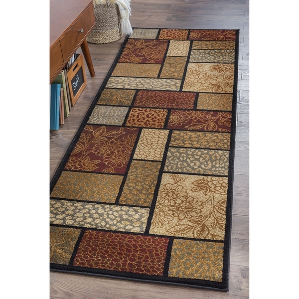 Alise Infinity Brown Runner (2'3 x 7'3) - 2'3 x 7'3 8534733