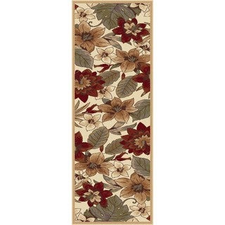 Infinity Collection Ivory Rug ( 2' 7 x 7' 3)