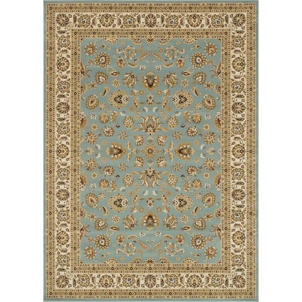 Primeval Blue Oriental Rug (11'2 x 14'6)
