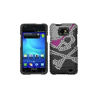 Premium Samsung Galaxy S2 / S II Skull Rhinestone Case (AT&T version)