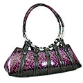 Snake Skin Embossed Fashion Bag