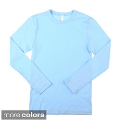 American Apparel Kids' Baby Rib Long Sleeve Tee Shirt