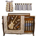Trend Lab Rockstar 6-piece Crib Bedding Set