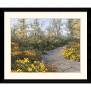 Diane Romanello 'Step into Autumn' Framed Art Print