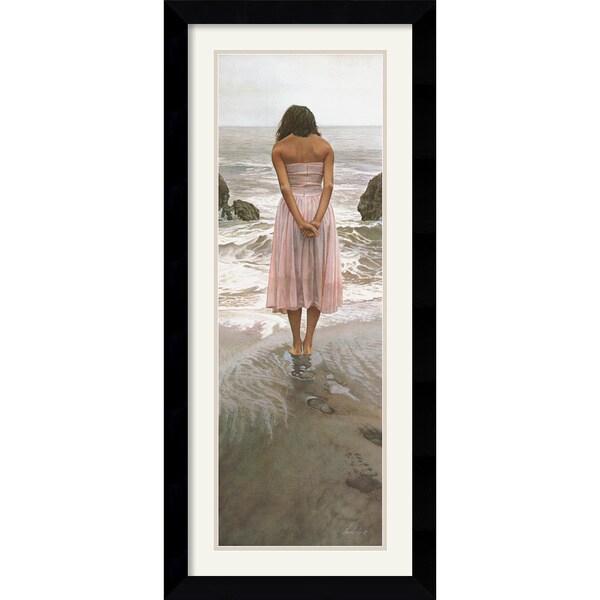 Steve Hanks 'Ashley' Framed Art Print
