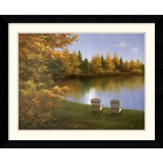 Diane Romanello 'Forever Autumn' Framed Art Print