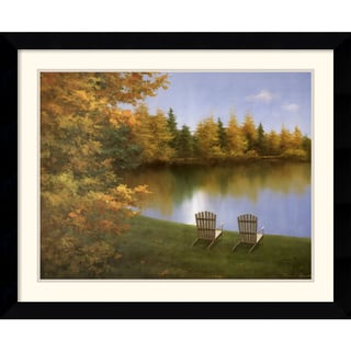 Diane Romanello 'Forever Autumn' Framed Art Print
