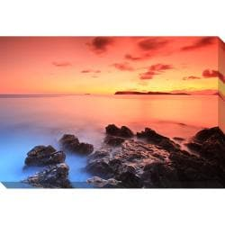 After Sunset Oversized Gallery Wrapped Canvas