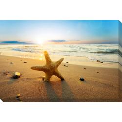 Beach Starfish Oversized Gallery Wrapped Canvas