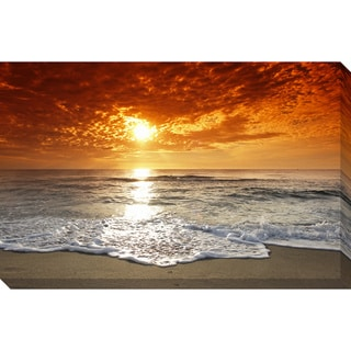 Seashore Oversized Gallery-Wrapped Photography Canvas
