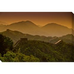 The Great Wall of China Oversized Gallery Wrapped Canvas
