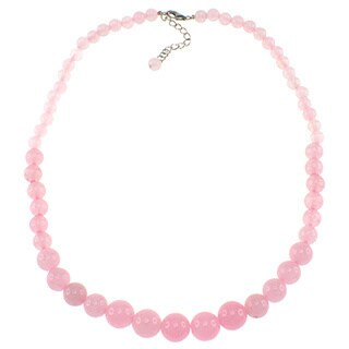 Pearlz Ocean Pink Jade Journey Necklace