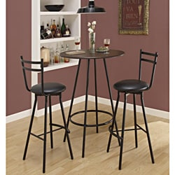 Black Metal Swivel Barstool (Set of 2)