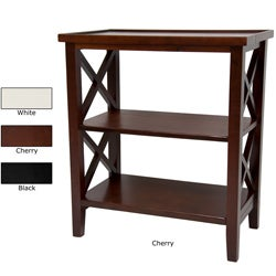 Wood 26-inch Architectural Bookcase Table (China)