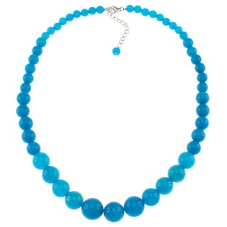 Pearlz Ocean Blue Jade Journey Necklace
