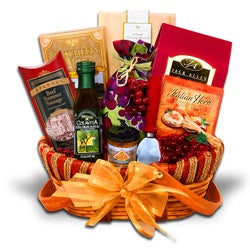 Taste of the Vineyard Gift Basket