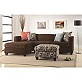 Anthony Chocolate Sectional Sofa Set