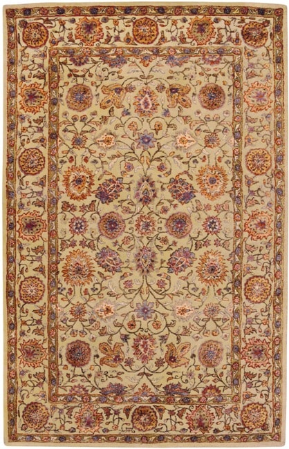 Hand-tufted Naples Semi-worsted New Zealand Wool Rug (9' x 13')
