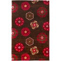 Smithsonian Hand-tufted Laguna Floral Medallion Wool Rug (5' x 8')