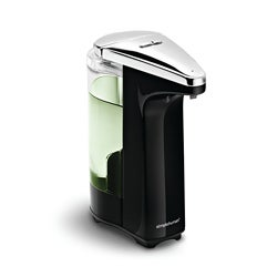 simplehuman 8-ounce. Black Compact Sensor Pump for Soap or Sanitizer