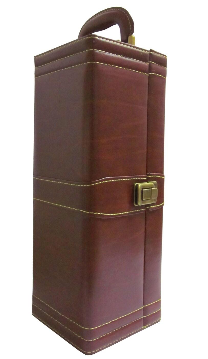 Amerileather Single Wine Case with Accessories (31-5)