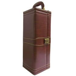 Amerileather Single Wine Case with Accessories (31-5)