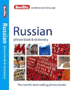 Berlitz Russian Phrase Book + Dictionary