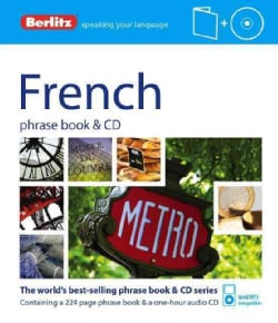 Berlitz French Phrase Book + Cd