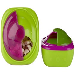 Sassy Perfect Sized Pink Snack Pods (Pack of 2)