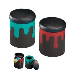 Kid's Paint Can Storage Stools (Set of 2)