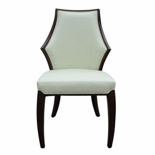 Tuxedo Leather Dining Chairs