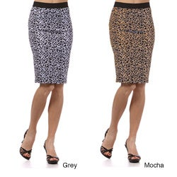 Tabeez Women's Printed Pencil Skirt