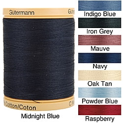 Natural Solids 876 Yard Cotton Thread