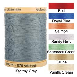 Gutermann Natural Solids 876-Yard Cotton Thread