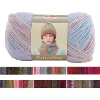Lion Brand Self-striping Lightweight Wool/Acrylic Amazing Yarn