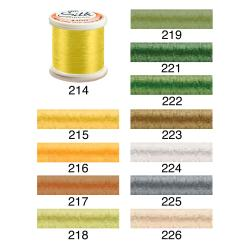100-Percent Pure Filament Silk 100-Weight 200-Meters Thread
