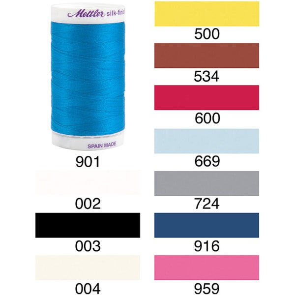 Machine-quilting Fade-resistant 500-yard Egyptian-cotton Thread
