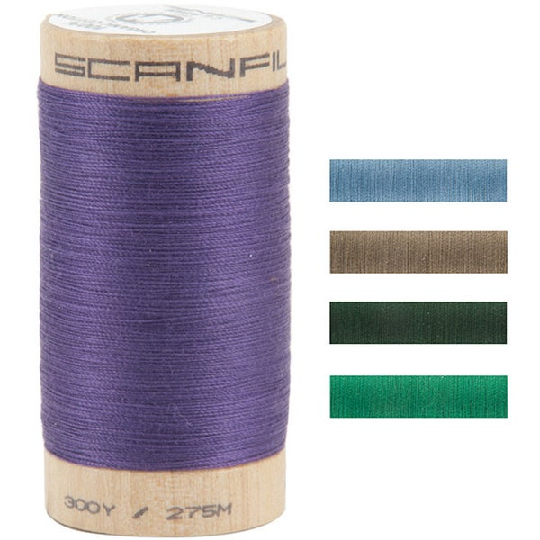 100-Percent Organic 300-Yard Egyptian Cotton Thread