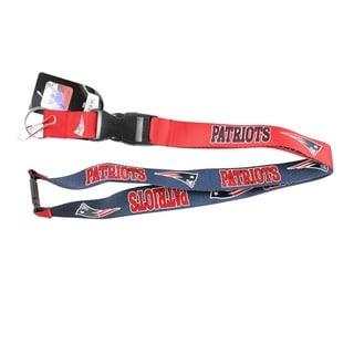 Aminco International New England Patriots Reversible Clip Lanyard