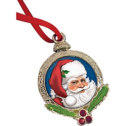 American Coin Treasures Santa Claus Coin Ornament