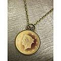 American Coin Treasures Liberty Head Dollar Gold Piece Replica Coin Pendant