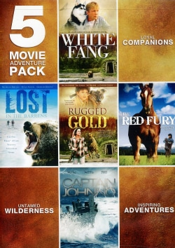 5 Movie Adventure Pack (DVD)