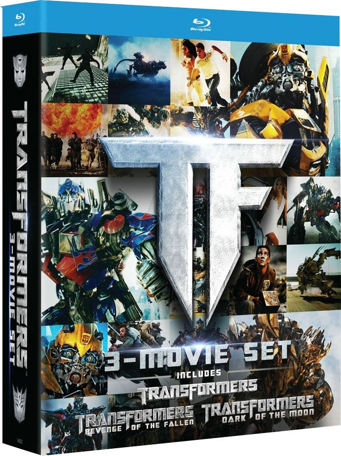 Transformers Trilogy Gift Set (Blu-ray Disc)