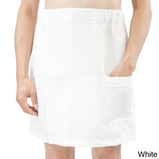 Leisureland Men's Spa Waffle Wrap
