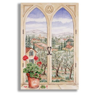 Tuscany Window Scene