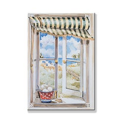 Seascape Window Scene