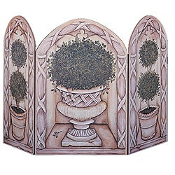 Topiary Fire Screen